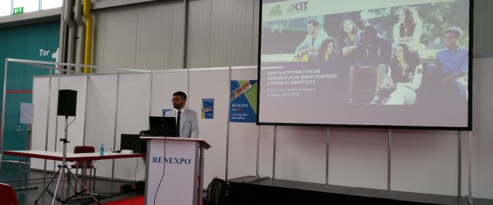 Holistic smart energy solution for smart city context at RENEXPO Augsburg